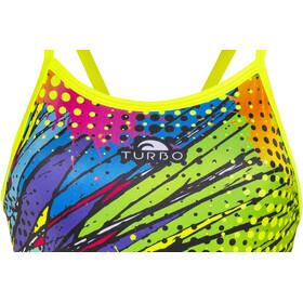 Turbo Kriptonite Revolution Thin Strap Swimsuit Women Yellow